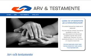 Gratis juridisk information om arvsrätt och hur man skriver testamente.