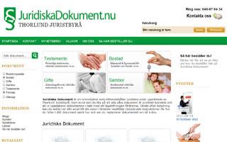 Ladda ner testamente, äktenskapsförord och samboavtal på Juridiska Dokument!