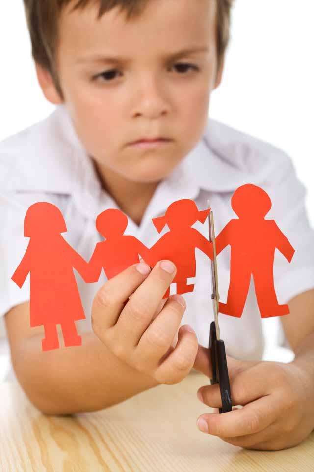 Skilsmässa barn - Vad händer med barnen vid en skilsmässa?